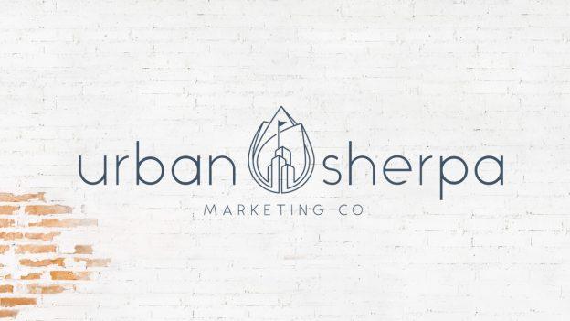 The Urban Sherpa Marketing Co. logo