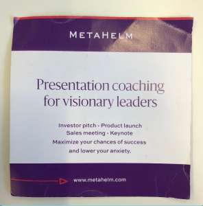 A Metahelm brochure